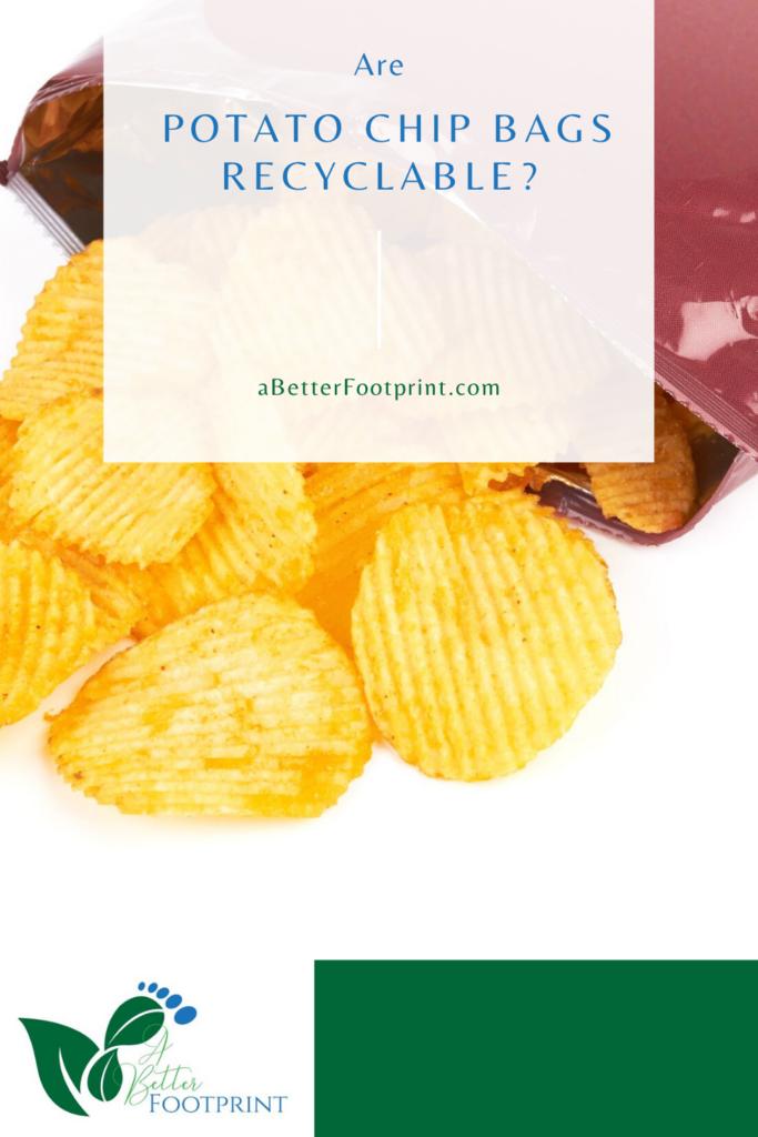 ¿Son reciclables las bolsas de patatas fritas?
