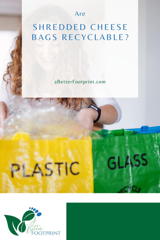 ¿Son reciclables las bolsas de queso rallado?